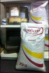 Country Harvest Rubbit Pellets