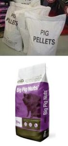 Pig food at Animal Stuff shops